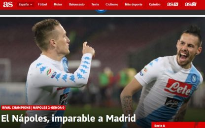 """Napoli inarrestabile"", in Spagna lo temono"