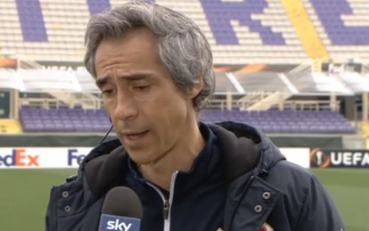 "Fiorentina, Sousa: ""Servirà un'altra impresa"""