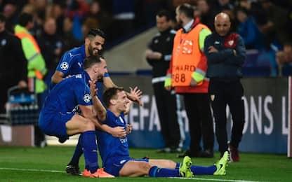 Favola Leicester: 2-0 al Siviglia: è ai quarti