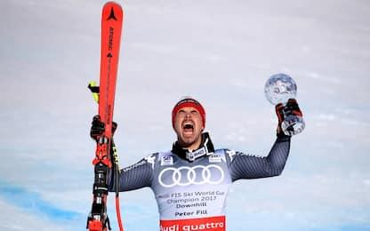 Sci, Peter Fill vince Coppa del Mondo di discesa