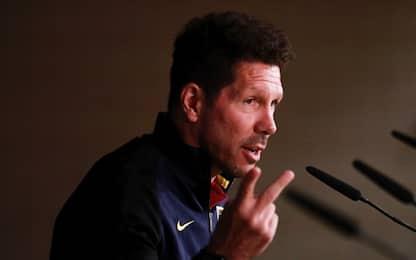"Atletico, Simeone: ""Arbitro passi inosservato"""