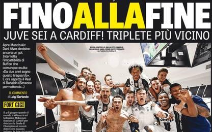Champions, Juve in finale. La rassegna stampa