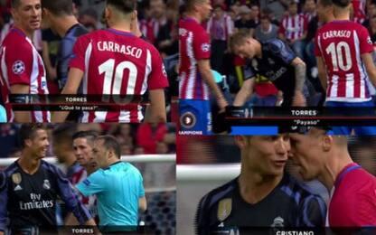 Atletico-Real, che scintille tra CR7 e Torres!