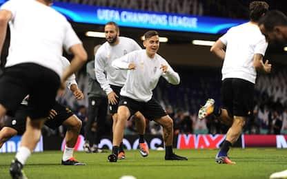 Real-Juventus: Barzagli terzino, Isco più di Bale