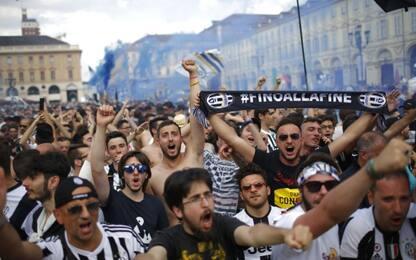 Juve-Real: attesa a Torino, pronti i maxischermi