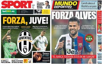 Juventus-Real Madrid, la rassegna stampa