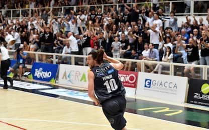 Finale scudetto, Trento-Venezia 78-56. Serie 2-2