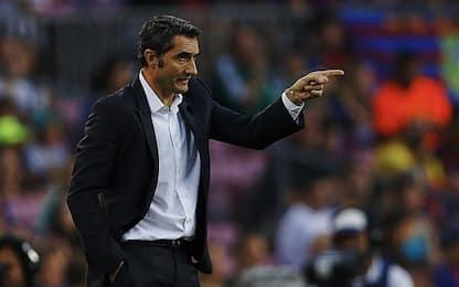 """Valverde coccola Messi: """"Se tocca palla lui..."""""""