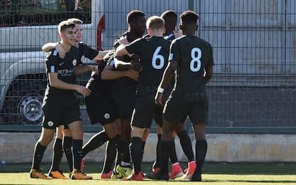 Youth League, Napoli da incubo: il City vince 3-5