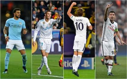 Champions passano City, Tottenham, Real e Besiktas
