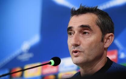 "Barça, Valverde: ""Alla Juve ne toglierei 5-6"""