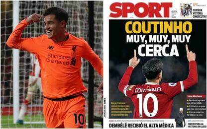 """Dalla Spagna: """"Coutinho è molto vicino al Barça"""""""