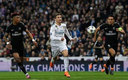 Paris Saint Germain-Real Madrid: quote degli ottavi di Champions