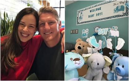 Schweinsteiger e la Ivanovic diventano genitori