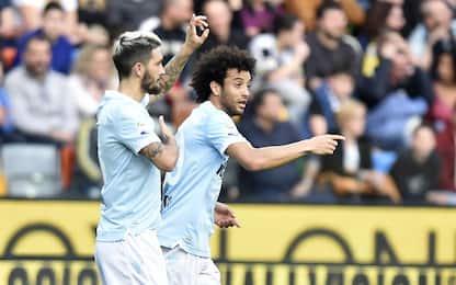 Lazio, rimonta sull'Udinese: 1-2. Roma raggiunta