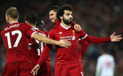 Roma, revival Liverpool: dalla finale all'ex Salah
