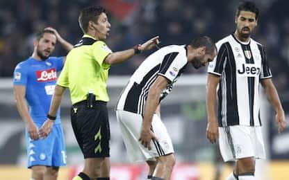 Juventus-Napoli, a Rocchi la sfida scudetto