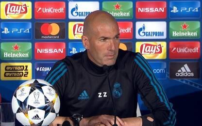"""Zidane: """"CR7 è al 140%. Rispetto Klopp"""""""