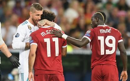 """Le scuse di Sergio Ramos: """"Salah, torna presto"""""""