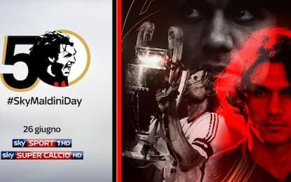 #SkyMaldiniDay: 50 volte Paolo
