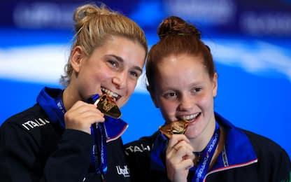 Nuoto, Bertocchi-Pellacani e Bridi vincono l'oro