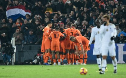 Francia sconfitta dall'Olanda: Germania retrocessa