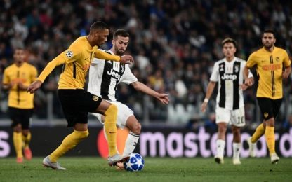 Le quote e i pronostici di Young Boys-Juventus