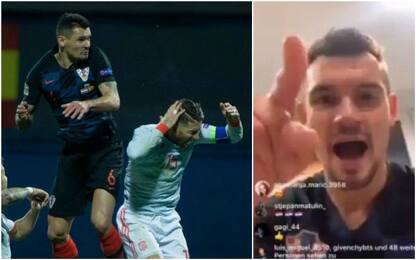 Insulti social a Ramos: Lovren, storica squalifica
