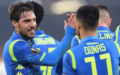 Napoli agli ottavi, Zurigo ko 2-0 al San Paolo
