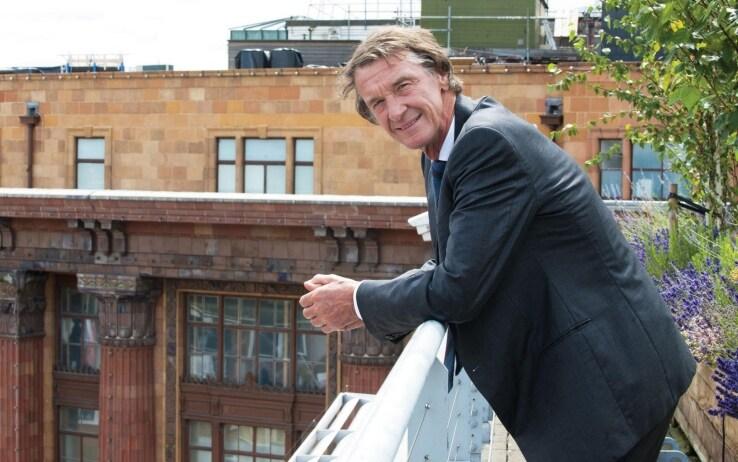 Jim Ratcliffe, 66 anni, uomo più ricco d'Inghilterra e proprietario del gruppo Ineos