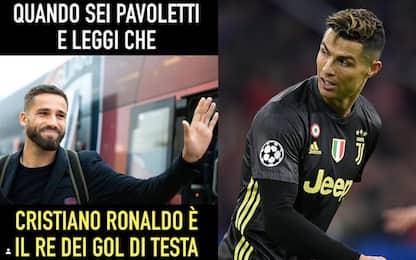 """Pavoletti sfida CR7: """"Lui il re dei gol di testa?"""""""