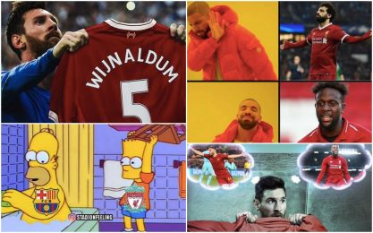 Liverpool-Barça: i migliori meme sui social. FOTO