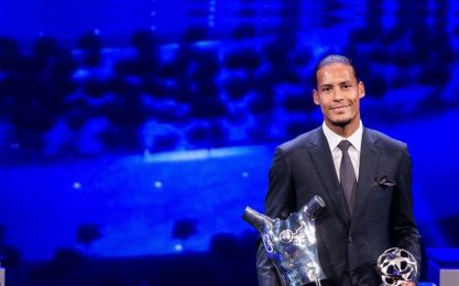 Van Dijk giocatore dell'anno Uefa: LA CLASSIFICA