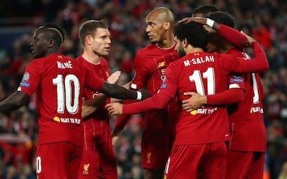 Liverpool, 4-3 thriller col Salisburgo. Ok Chelsea
