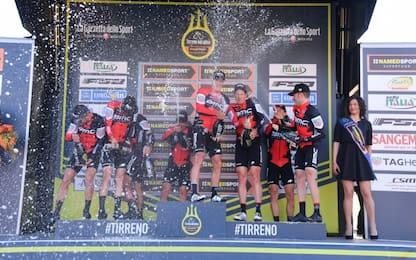 Ciclismo, Caruso leader alla Tirreno-Adriatico