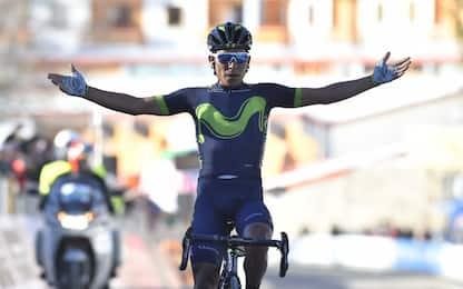 Tirreno-Adriatico, Quintana vince la 4^ tappa