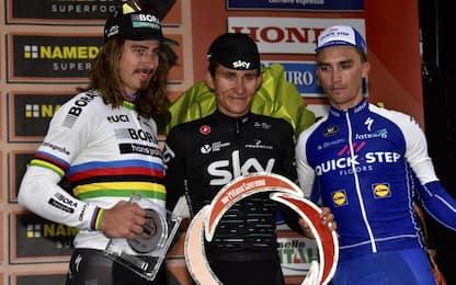 La Sanremo è di Kwiatkowski, beffato Sagan
