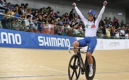 Mondiali, Rachele Barbieri vince oro nello scratch