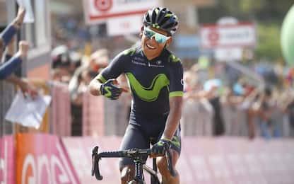 Quintana vince sul Blockhaus: è maglia rosa