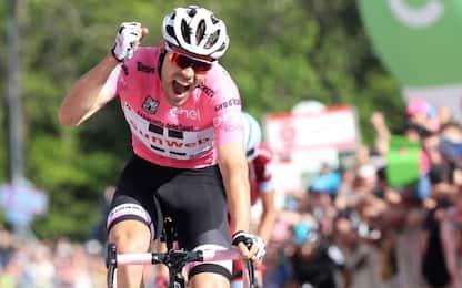 Giro, alla maglia rosa Dumoulin la 14^ tappa
