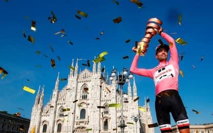 Il Giro è di Dumoulin. Sul podio Quintana e Nibali