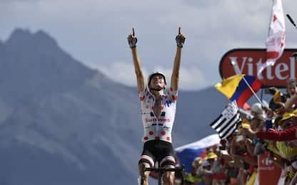 Tour, sull'Izoard vince Barguil. Cede Aru, è 5°