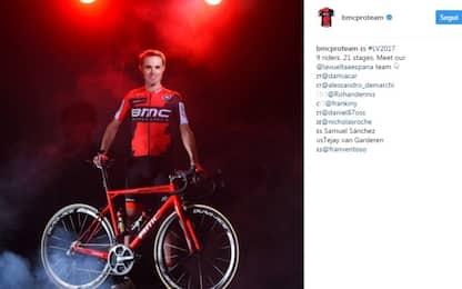 Ciclismo, Samuel Sanchez positivo: sospeso