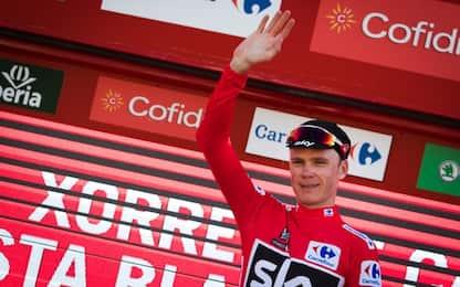 Vuelta, Froome vince la nona tappa e allunga