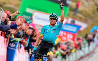 Vuelta, l'11^ tappa è preda di Lopez