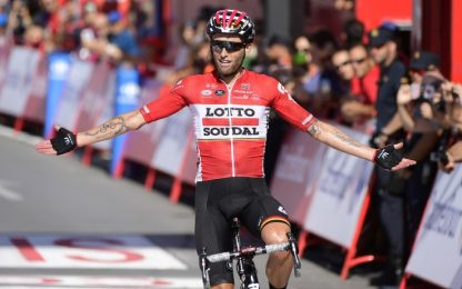Vuelta, Tomasz Marczynski trionfa nella 12^ tappa