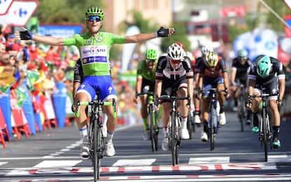 Vuelta, tris di Trentin nella 13^ tappa