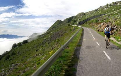 """Vuelta: l'Angliru, il """"mostro"""" che sfiorò Pantani"""
