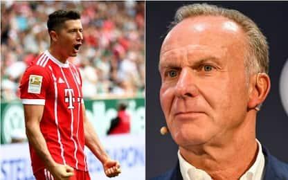 Bayern, Rummenigge contro Lewandowski