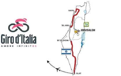 Giro 2018, la presentazione: al via da Gerusalemme